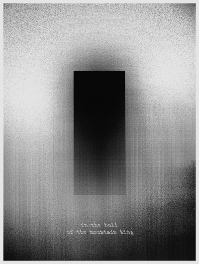 the blog of tamas horvath #reznor #trent #monochrome #illustration #network #glitch #poster #social