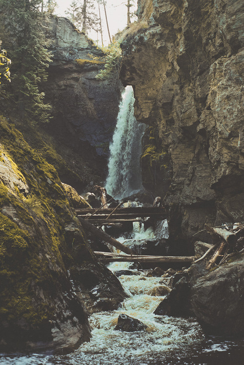 Sleepless Dreams | man and camera: Canyon Falls ➾ Luke Gram #stream #canyon #landscape #rocks #nature #photography #falls #forest #waterfall #river #beauty
