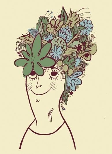 Tuesday Bassen: Illustrator #tuesday #hair #illustration #day #bassen #good