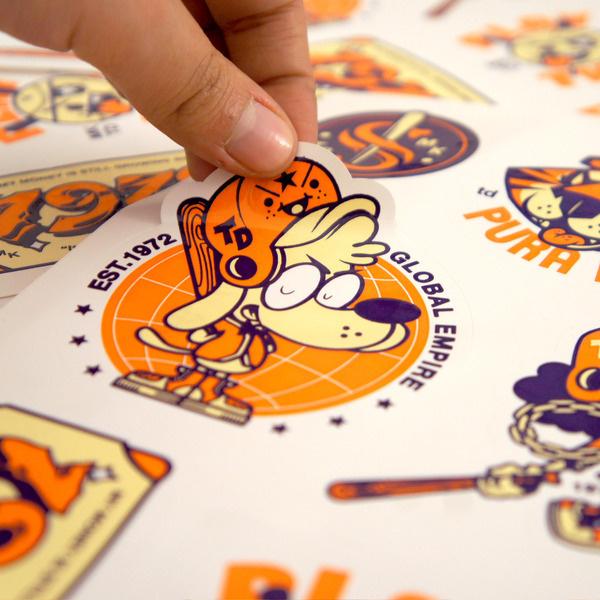 Sticker #illustration #design #character #stickers