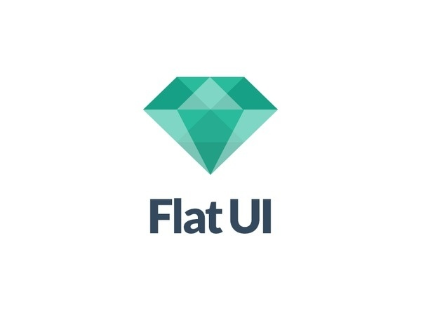 Flat UI Logo #flat #logo
