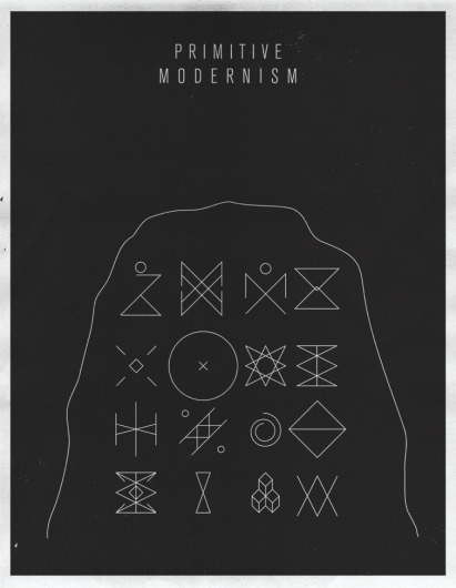 S & S Shop by Script and Seal — Primitive Modernism #modernism #print #poster