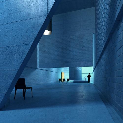 on something, onsomething Meyer Dudesek | Abdankungshalle,... #blue