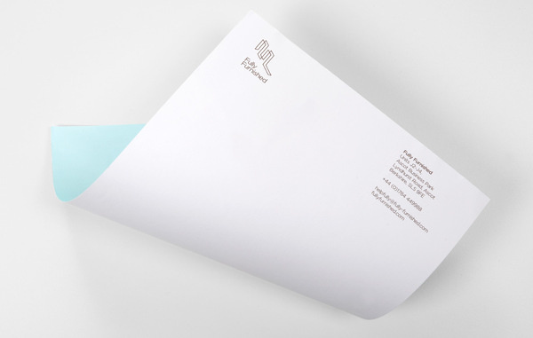 Fully Furnished — Ideas Factory #stamp #letterhead #foil #stationery