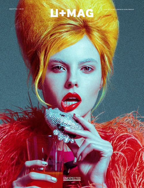 U+Mag (Brésil / Brazil) #design #graphic #cover #colors #photography #editorial #magazine