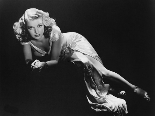 Black and White Portraits by George Hurrell » Creative Photography Blog #white #black #photography #portrait #and