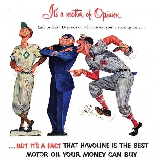 Plan59 :: 1950s Illustration :: Havoline, 1952 #motor #havoline #oil