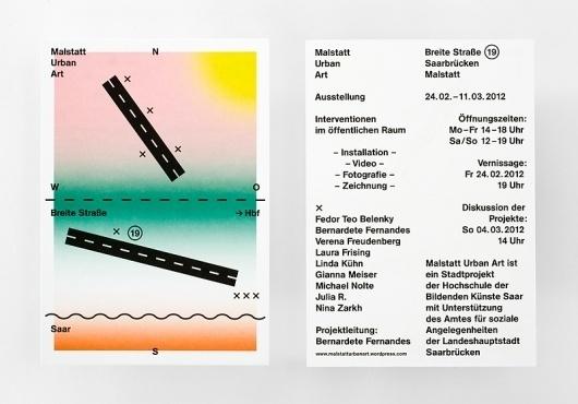 malstatt urban art : Studio Laucke Siebein #print #design #graphic #flyer
