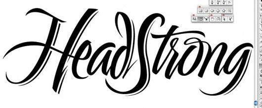Headstrong+logo.jpg (JPEG Image, 715x295 pixels) #handlettering