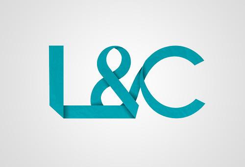 Beleonia #logotyp #logo #paper #l&c