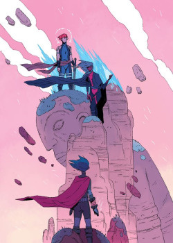 #pink #hero #illustration