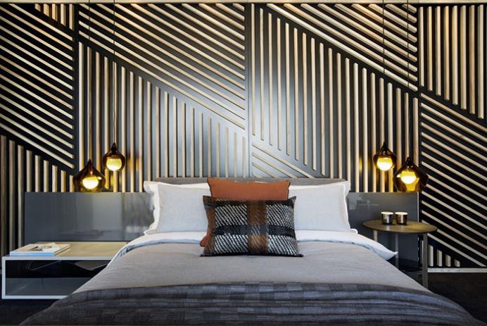 Trendy Apartment Decor with Geometric and Graphic Elements - #decor, #interior, #bedroom,
