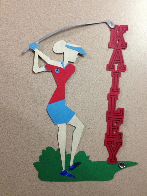 Golf Locker Decoration #design #makeup #decor #locker #decoration