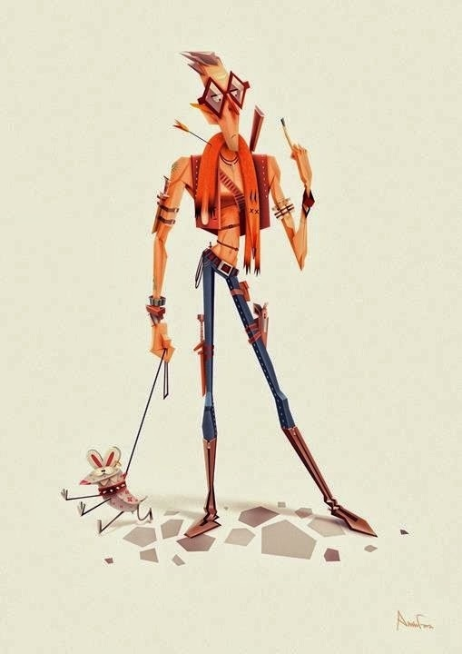 Illustration by Aminfara #inspiration #illustration #character