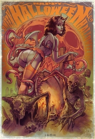 Retro Posters by Corlen Kruger | Cuded #retro #posters #kruger #corlen