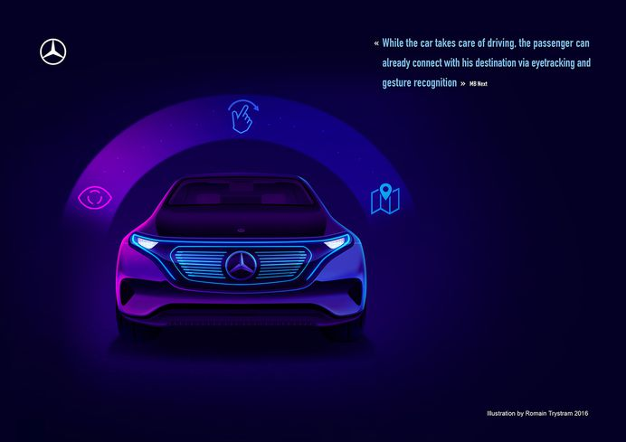 Mercedes - Benz on Behance