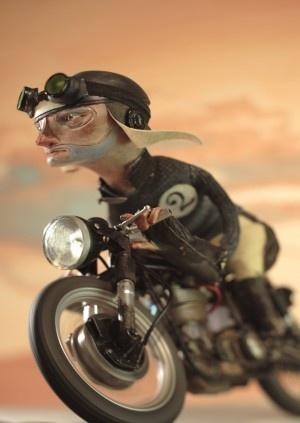 Wyniki Szukania w Grafice Google dla http://thelazycat.de/chopshop/wp content/uploads/2011/11/RNS_Clutch 300x423.jpg #animation #motorbike #rednose #doll #puppet #illustration #character