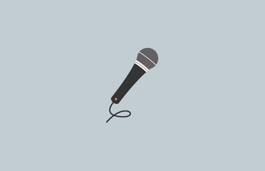 Matthew Hancock | GE Illustrations #illustration #design #graphic #microphone