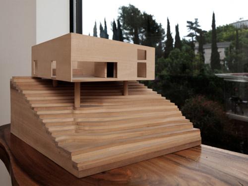 BIG&smallHOUSE14 #model #byanonymous #architects