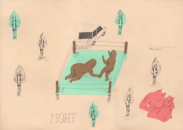 Archive illustration   Feather and Webb #neoray #illustration