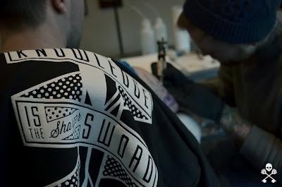 off key clothing #clothing #off #tattooing #illustration #tattoo #key #fashion #logo