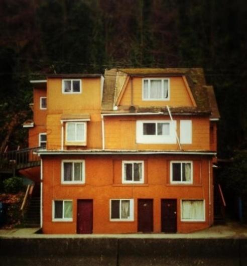RichieSwims #photography #orange #house