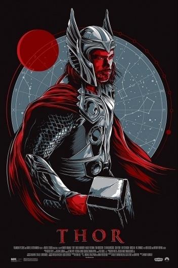 Thor-Taylor.jpg 852×1280 pixels #thor #illustration #movie #poster