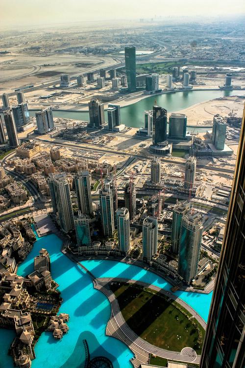 CJWHO ™ (View From Above by Safwan Hariri) #dubai #landscape #skyscraper #photography #architecture #view #desert