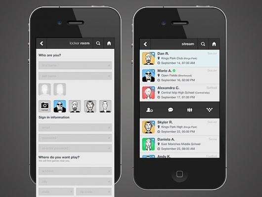Mario Azzi - Interactive Designer #iphone #ios #app #sports