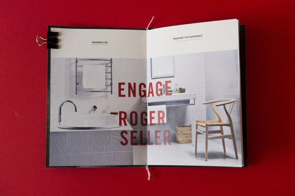 Engage The Experience #brandbook #bathroom #publication #imagery #typography