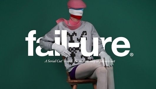 fail-ure® on the Behance Network #fashion #identity #installation