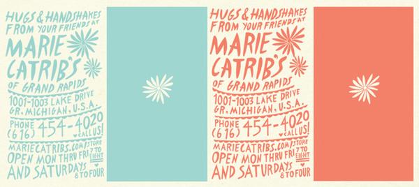 marie catrib's (2008-12) - Geoffrey Holstad #ink #handwritten #typeface #poster