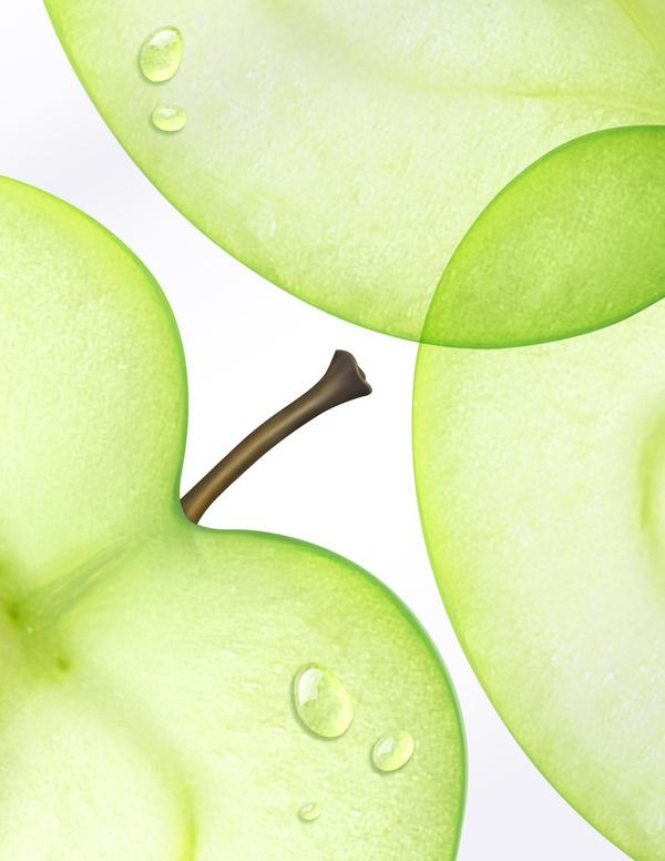 HEAD & SHOULDERS GREEN APPLE #illustration #apple #green