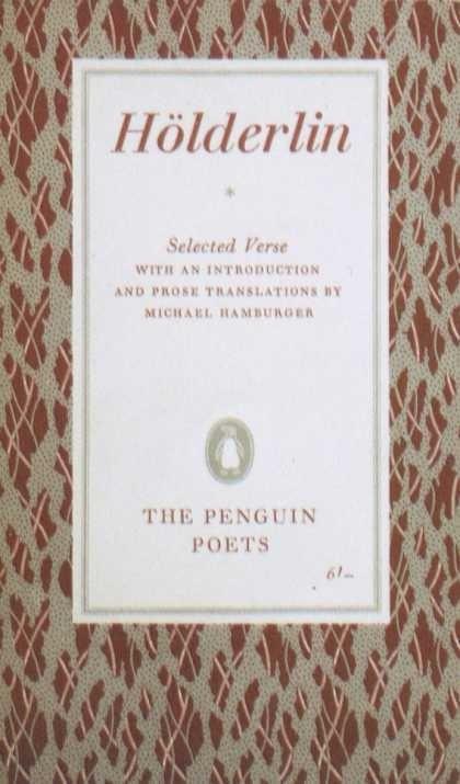 Penguin Books - Hoelderlin #covers