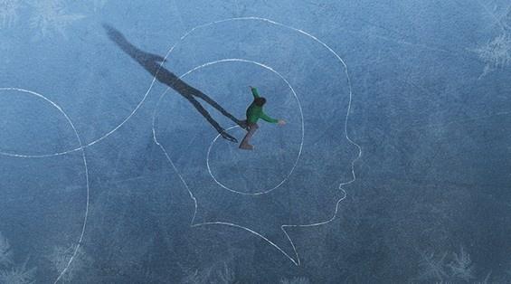 Brent Holloman's daughter silhouettes #art