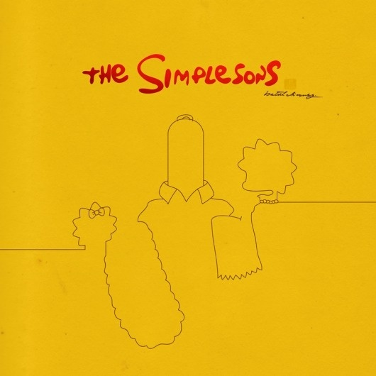 the simplesons by ~Betuldonmez on deviantART #cover #simpsons #minimalism