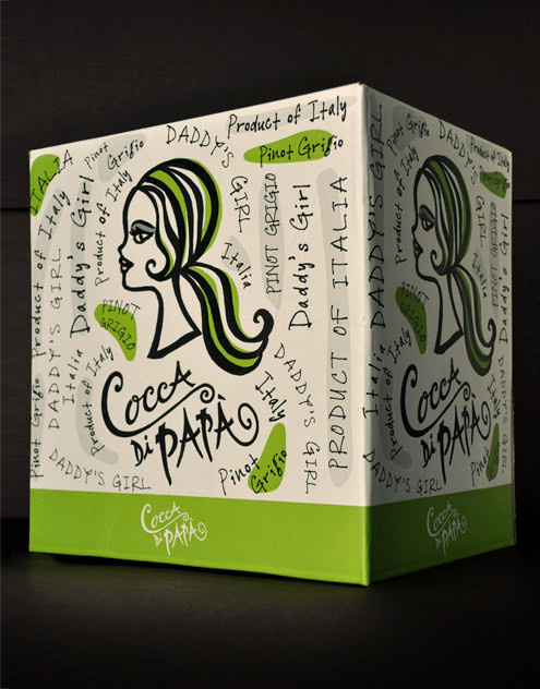 Cocca Di Papa Wine Canopy Management Shipper Italy #packaging #boxed #wine