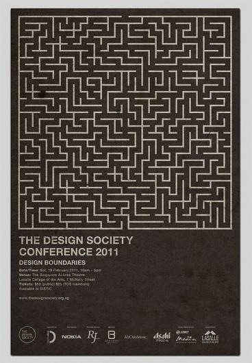 Design Boundaries #print #poster