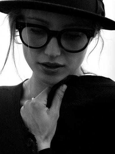 Likes   Tumblr #glasses #model #girl #photography #portrait