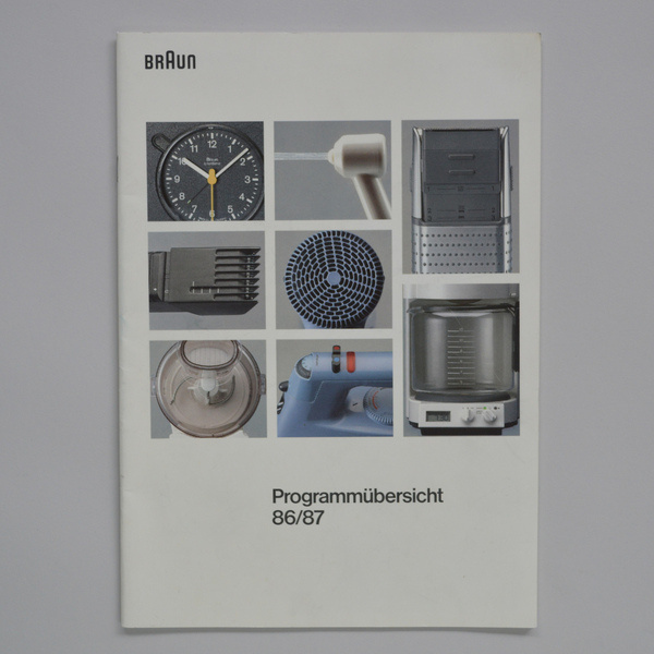 Braun Cover #cover #grid #braun #catalog