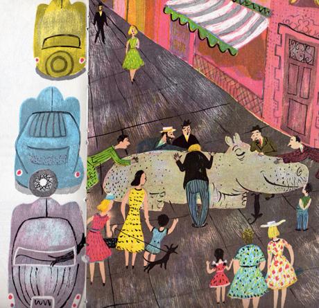 veronica duvoisin #illustration #childrens #vintage #books
