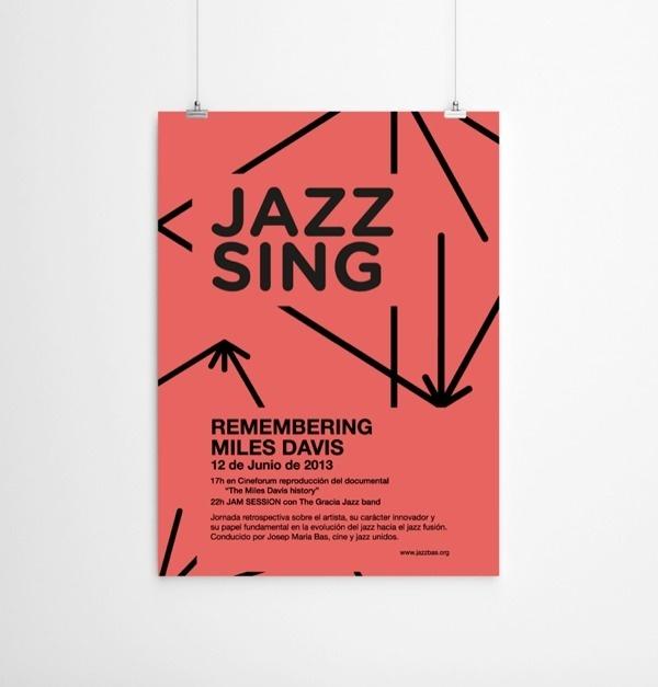 Jazzbass #music #jazz #identity #poster