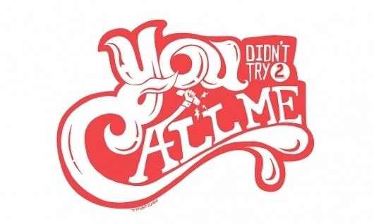 TRUST ZABO #type #lettering
