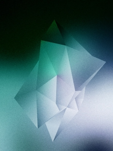DEFAULT MODE NETWORK #design #colours #geometric #artwork #digital #painting