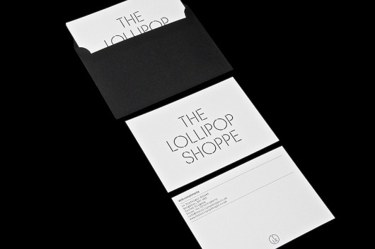 StudioMakgill - The Lollipop Shoppe #card #identiy #branding