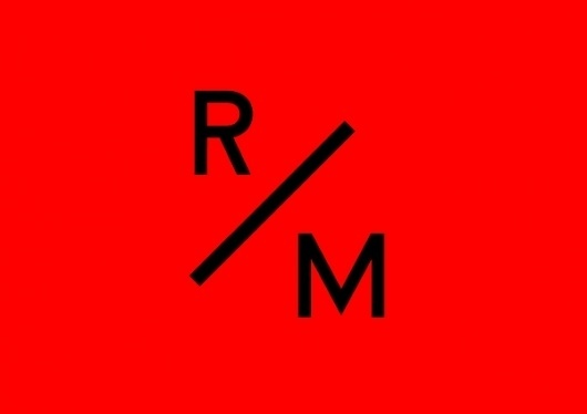 R/M on the Behance Network #logo #identity #red