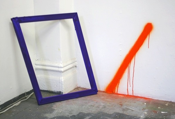 frames and colour #minimal