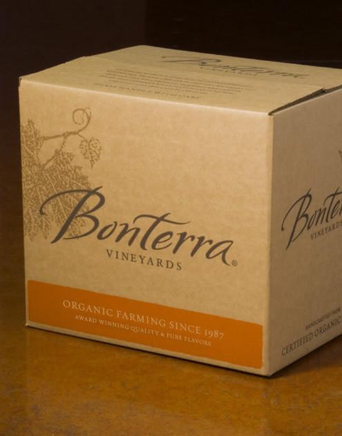 Bonterra Vineyards Wine Brown Forman Shipper California #packaging #boxed #wine