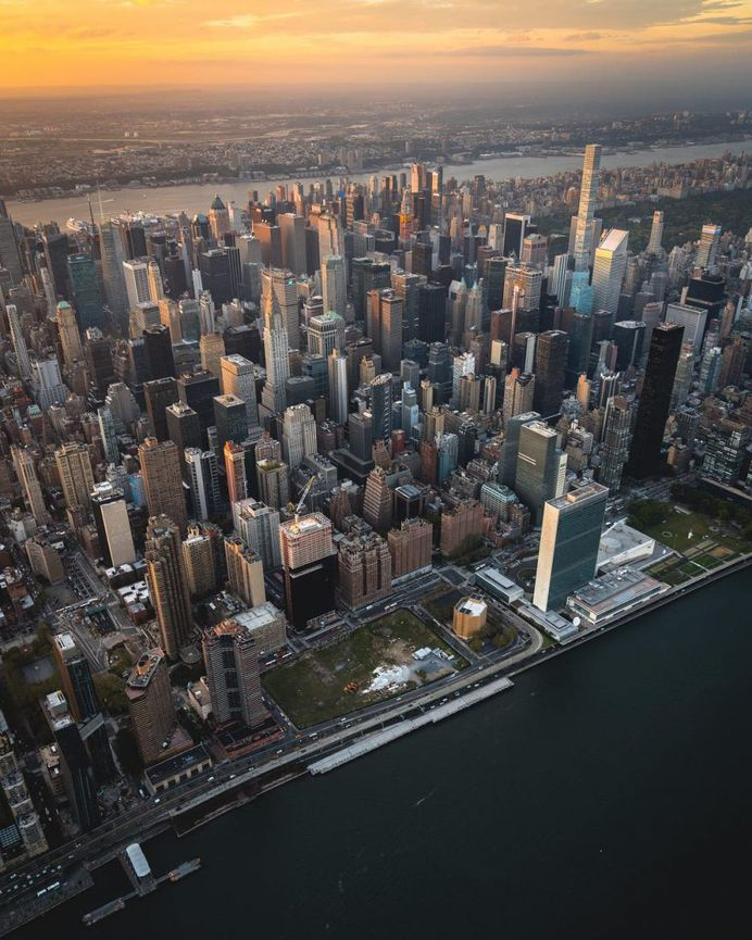 New York City From Above: Aerial Photography by Evan Meyer