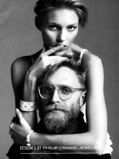 ::KABA.ge::მოდური ონლაინჟურნალი ქალებისთის #glasses #white #philip #advertisement #black #jewelry #and #crangi